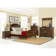 Pine Island Four Poster 4 Piece Bedroom Collection