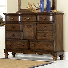 Pine Island 9 Drawer Dresser