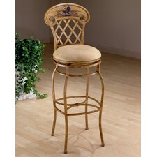 "Rooster 26.5"" Swivel Bar Stool with Cushion"