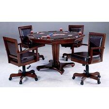 Ambassador 5 Piece Poker Table