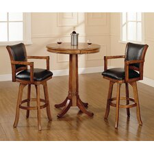 <strong>Hillsdale Furniture</strong> Park View 3 Piece Pub Table Set