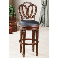 "Dover 24"" Swivel Bar Stool with Cushion"