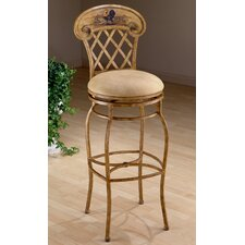 "Rooster 31.5"" Swivel Bar Stool with Cushion"