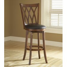 "Mansfield 30"" Swivel Bar Stool with Cushion"