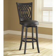"<strong>Hillsdale Furniture</strong> Van Draus 30"" Swivel Bar Stool with Cushion"