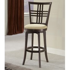 "Tiburon II 24"" Swivel Bar Stool with Cushion"