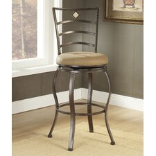 "<strong>Hillsdale Furniture</strong> Marin 24"" Swivel Bar Stool with Cushion"