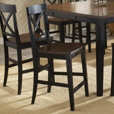 <strong>Hillsdale Furniture</strong> Englewood Stationary Counter Stool (Set of 2)