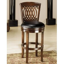 "<strong>Hillsdale Furniture</strong> Vienna 30"" Swivel Bar Stool with Cushion"