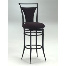 "<strong>Hillsdale Furniture</strong> Cierra 26"" Swivel Bar Stool with Cushion"
