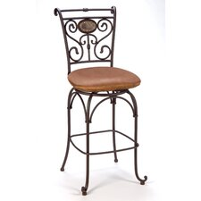 "Sedona 30"" Swivel Bar Stool with Cushion"