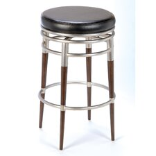 "<strong>Hillsdale Furniture</strong> Salem 26"" Swivel Bar Stool with Cushion"