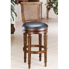 "Dalton 31"" Swivel Bar Stool with Cushion"