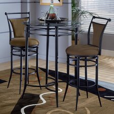 <strong>Hillsdale Furniture</strong> Cierra Pub Table with Optional Stools