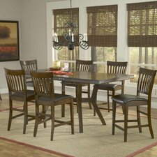 <strong>Hillsdale Furniture</strong> Arbor Hill 7 Piece Counter Height Dining set