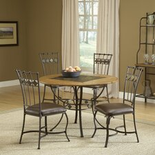 <strong>Hillsdale Furniture</strong> Lakeview 5 Piece Dining Set
