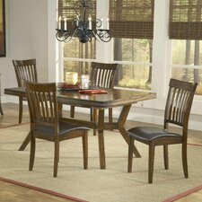 <strong>Hillsdale Furniture</strong> Arbor Hill 5 Piece Dining Set