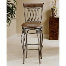 "<strong>Hillsdale Furniture</strong> Montello 30"" Swivel Bar Stool with Cushion"