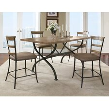 Charleston 5 Piece Counter Height Dining Set