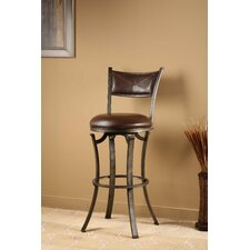 "Drummond 26"" Swivel Counter Stool with Cushion"