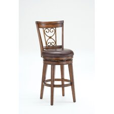 Villagio Scroll Back Swivel Stool