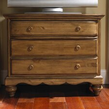 Hamptons 3 Drawer TV Dresser