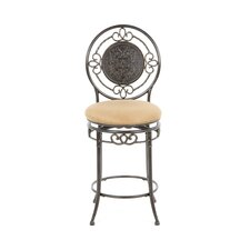 "<strong>Hillsdale Furniture</strong> Richland 26"" Swivel Bar Stool with Cushion"