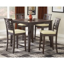 Tiburon 5 Piece Counter Height Dining Set
