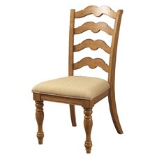 Hamptons Ladderback Side Chair (Set of 2)