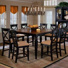 <strong>Hillsdale Furniture</strong> Northern Heights 9 Piece Counter Height Dining Set