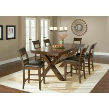 <strong>Hillsdale Furniture</strong> Park Avenue 7 Piece Counter Height Dining Set