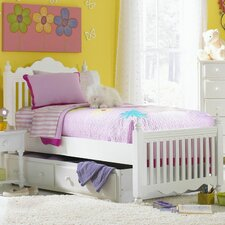 Lauren Twin Slat Bed with Trundle