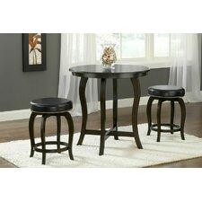 Wilmington 3 Piece Pub Table Set