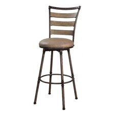 Thornhill Swivel Counter Stool in Distressed Washed Ash
