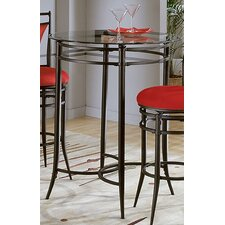Mix N' Match Pub Table with Round Glass Top