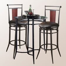 <strong>Hillsdale Furniture</strong> Midtown Pub Table with Optional Stools