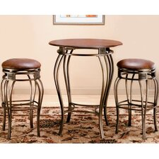 "Montello Pub Table with 30"" Backless Bar Stools"