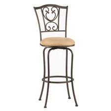 "<strong>Hillsdale Furniture</strong> Concord 24"" Swivel Bar Stool with Cushion"