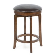 Brendan Backless Counter Stool in Brown Cherry