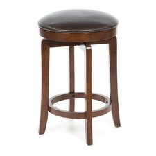 "Malone 25"" Swivel Bar Stool with Cushion"