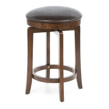 O'shea Backless Counter Stool in Brown Cherry