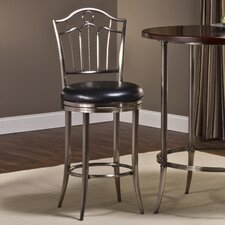 "<strong>Hillsdale Furniture</strong> Portland 26"" Swivel Bar Stool"
