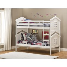 <strong>Hillsdale Furniture</strong> House Twin Over Twin Standard Bunk Bed