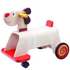 <strong>Wonderworld</strong> Puppy Push/Scoot Ride-On