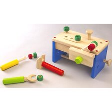 Work Bench 'N' Box Portable Play Carpentry Set