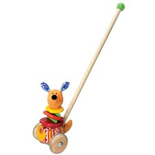 Rapping Kangaroo Sound Producing Push Toy