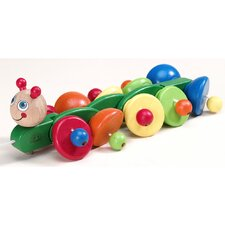 Sprinter Caterpillar Wooden Pull-Along Toy