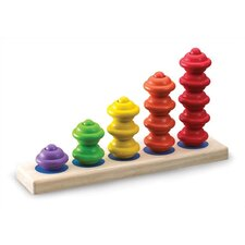 <strong>Wonderworld</strong> Tower Stair Stacker Activity Toy