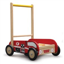 Fire Engine Walker Push Toy
