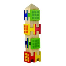 Stacking Town Building Blocks